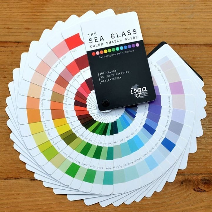 Sea Glass Color Guide