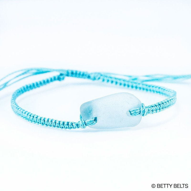 Sea Glass Friendship Bracelet (KAI)