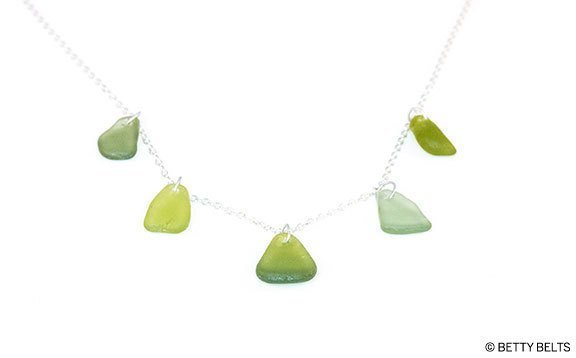 Sea Glass Necklace (DROPS)