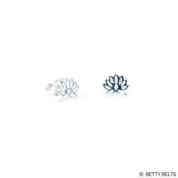 Lotus Stud Earrings