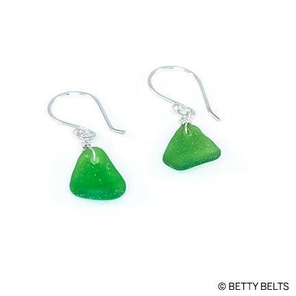 MADDIE Sea Glass Earrings