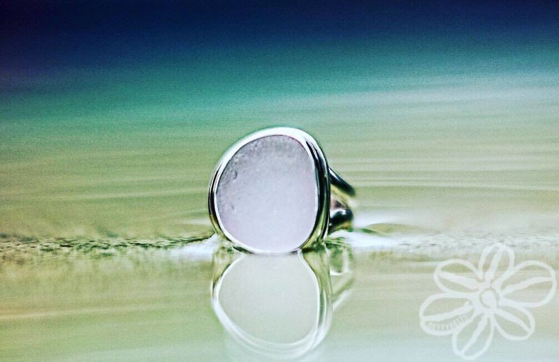Sea Glass Ring (CLASSIC)