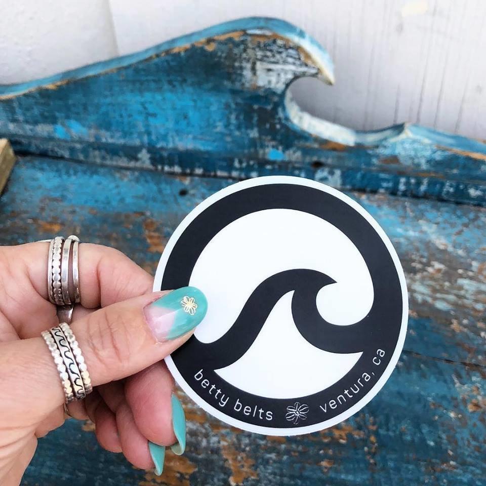 Original Circle Wave Sticker