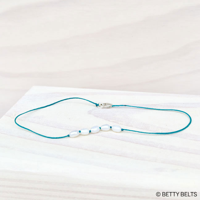 BRIANA Pearl Anklet