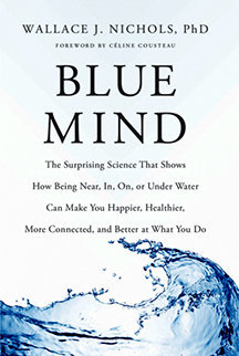 Blue Mind Book (Signed paperback includes Blue Marble)