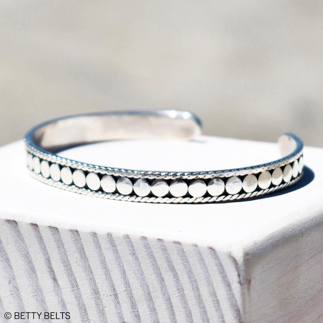 Bali Dots Cuff Bracelet
