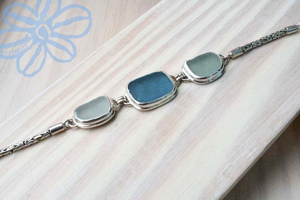 Sea Glass Bracelet (LINK)
