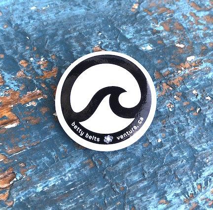 Original Betty Wave Logo Pin