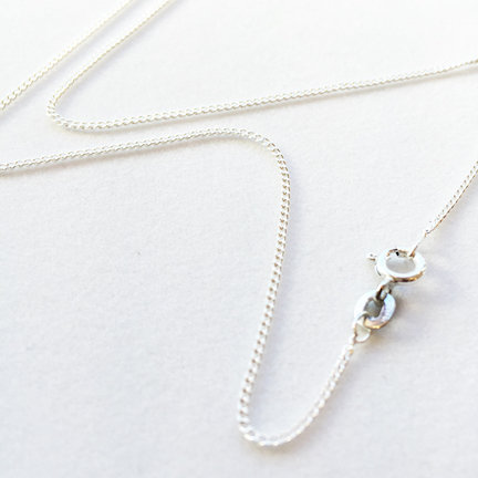 Sterling Silver Chain Options (necklace, anklet, bracelet, extender)