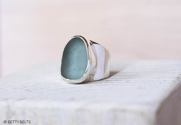 Sea Glass Ring (SHIPSTERN)