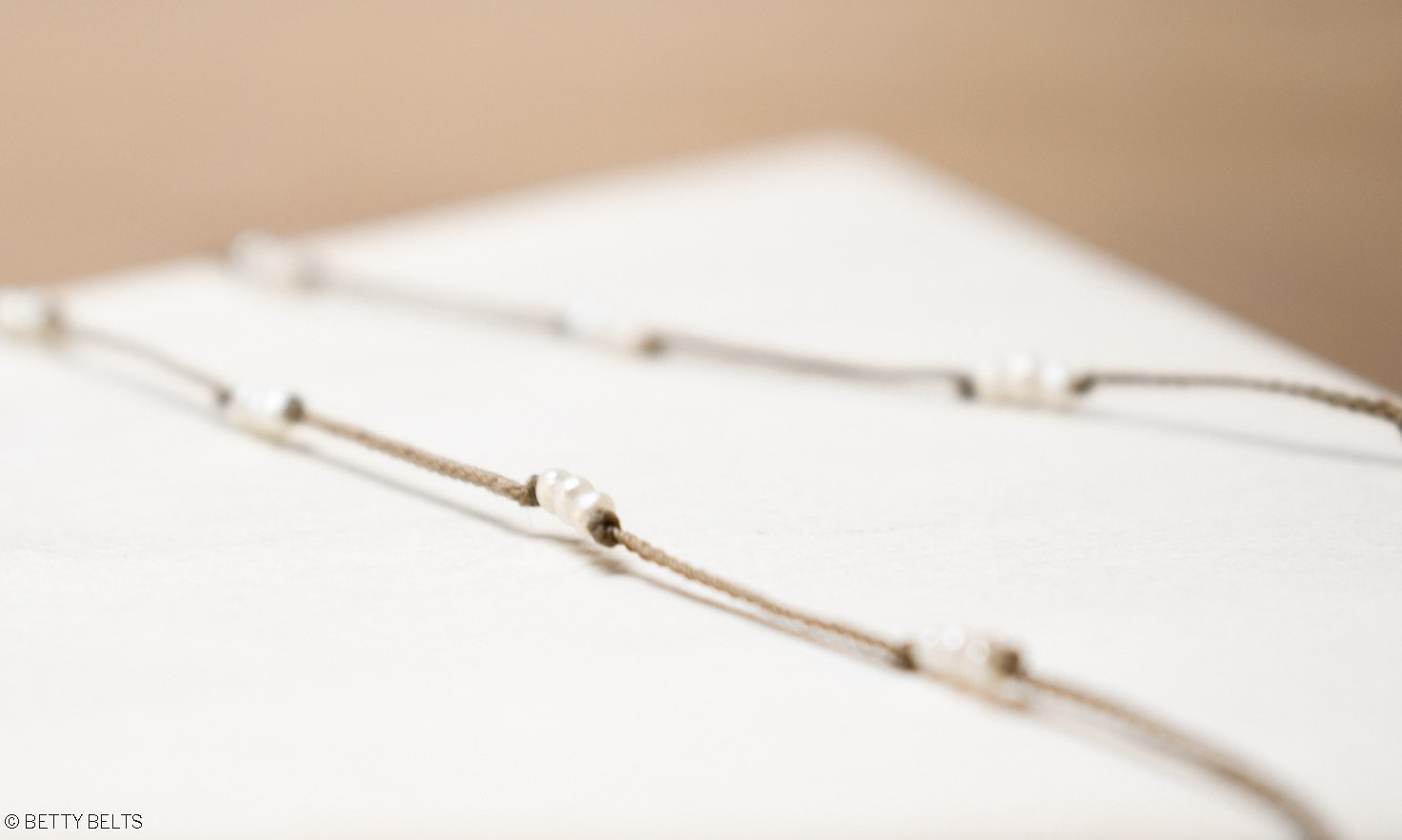 MICHELLE Pearl Necklace/Bracelet (shorter versions)