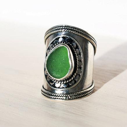 Sea Glass Ring (SHIVA)