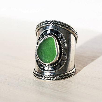 Sea Glass Ring (SHIVA)