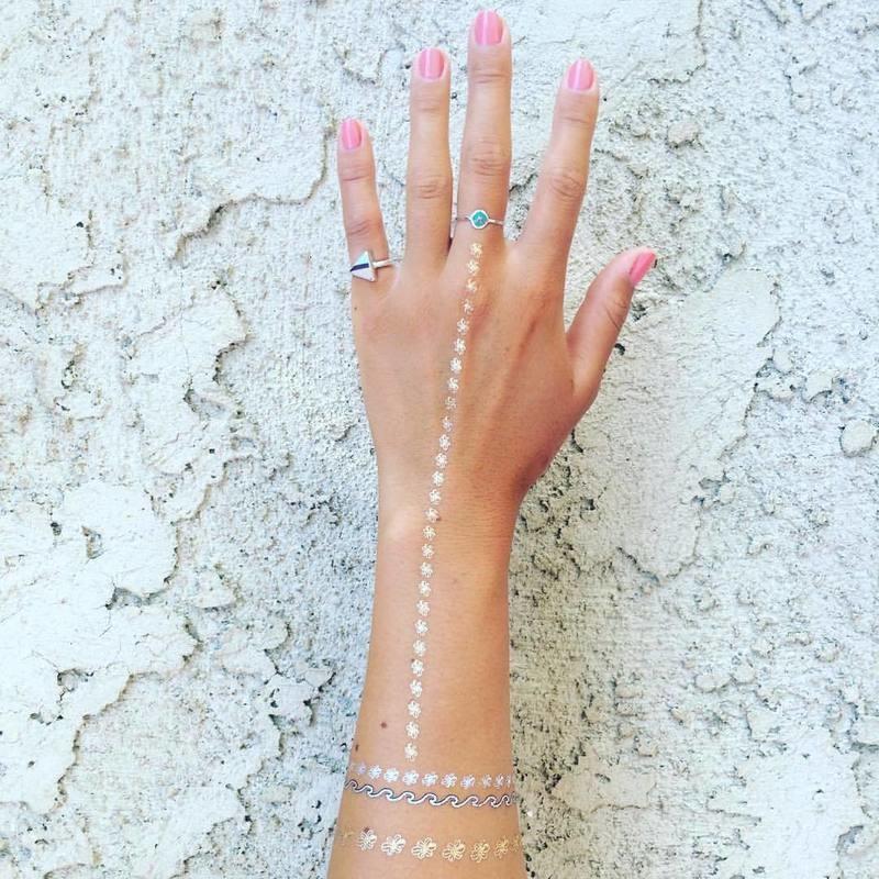 Betty B. Shimmer Tattoos