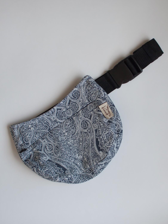 Сумка поясная женская Karaush Jeans Ornament