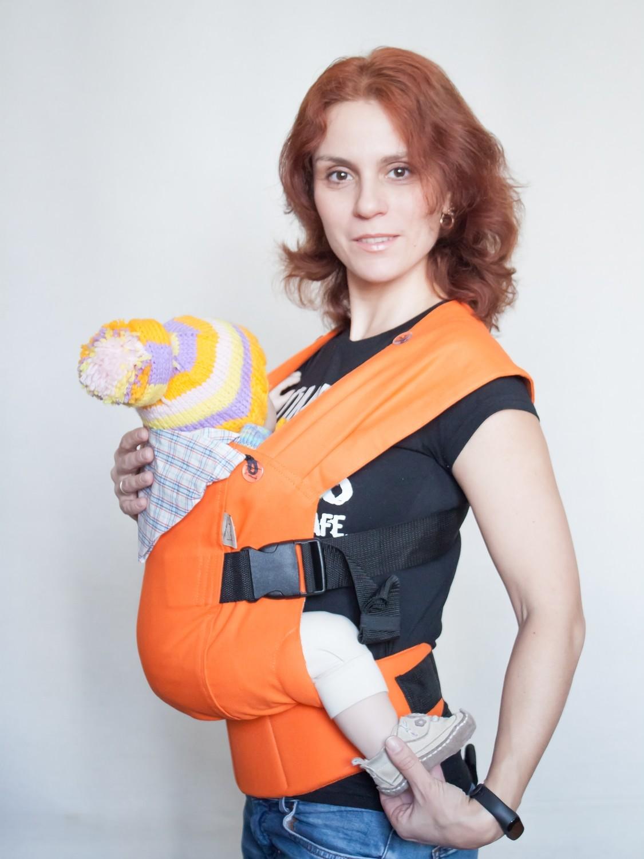 """Baby carrier Karaush """"Mandarin"""""""