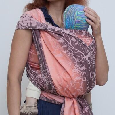 Baby sling Karaush Amira Coral