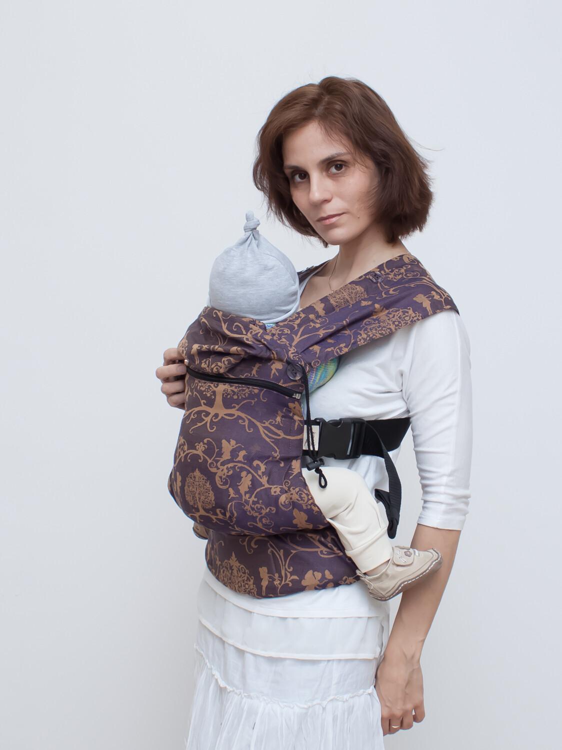 Growing baby carrier Karaush Amira Mist