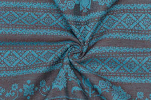 Sling with rings Karaush Adel Turquoise