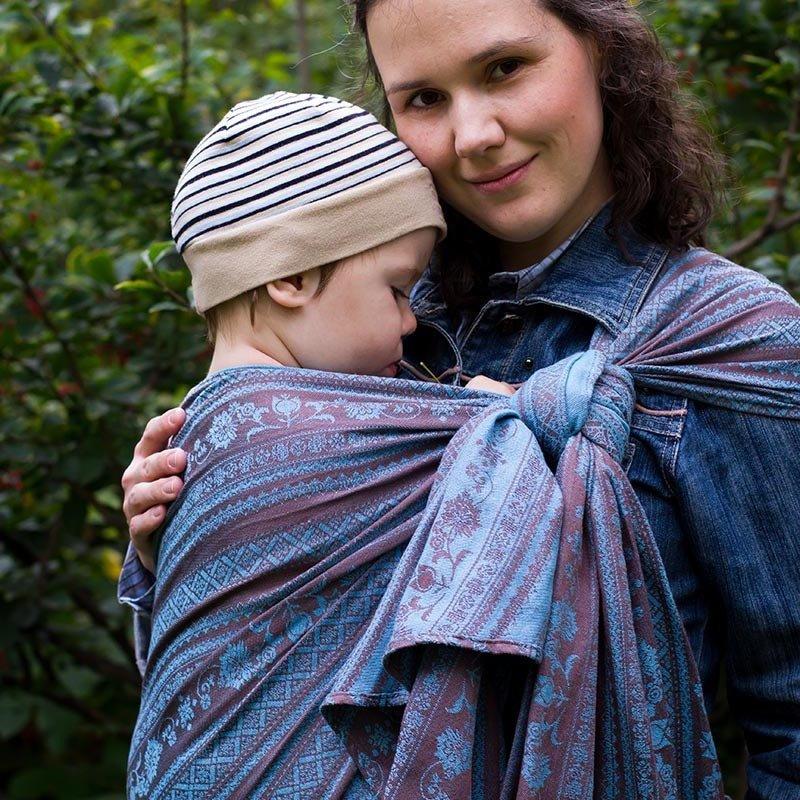 Baby sling Karaush Adel Turquoise