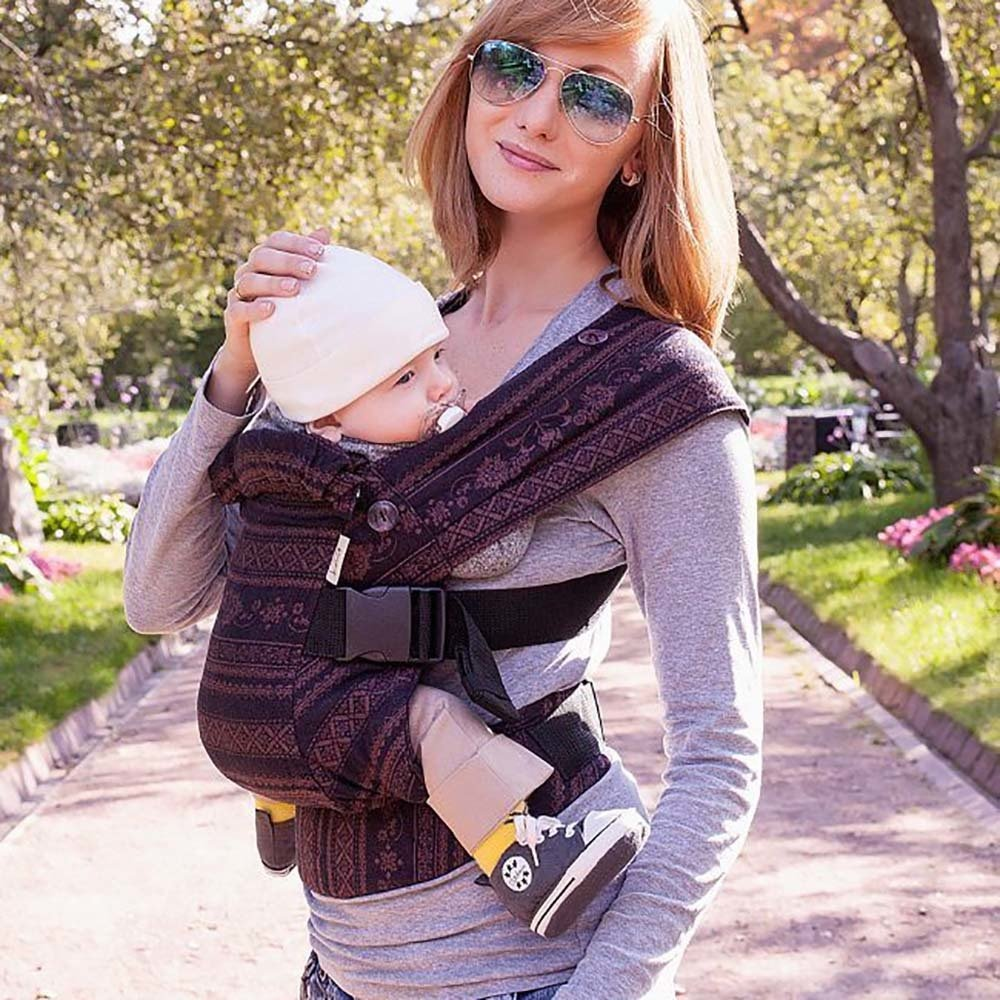 Baby carrier Karaush Adel Black Coffee