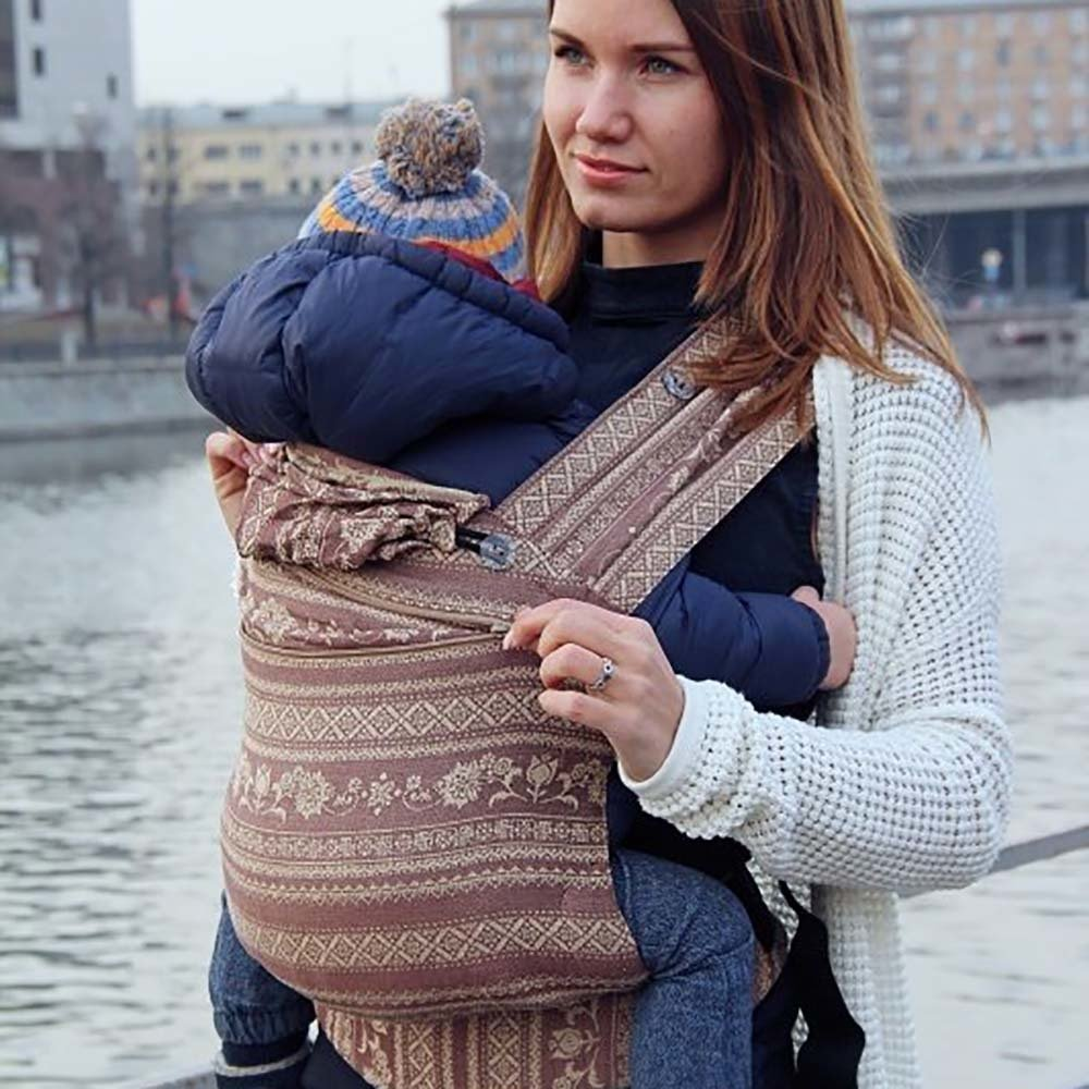Growing baby carrier  Karaush Adel Toffee