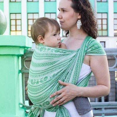 Baby sling Karaush Adel Mint