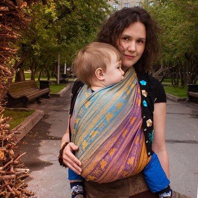 Baby sling Karaush Kuzma Rainbow Opal