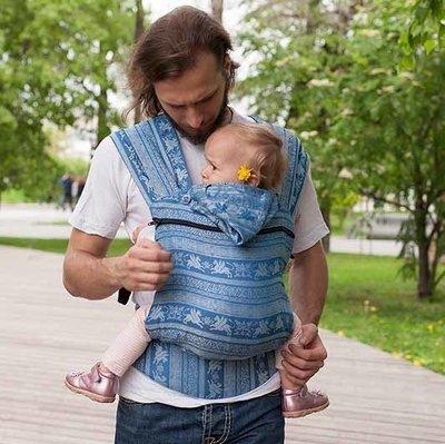 Growing baby carrier Karaush Kuzma Mykonos