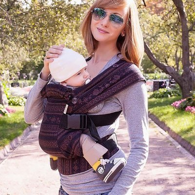 Baby carrier Karaush Adel Black Coffee