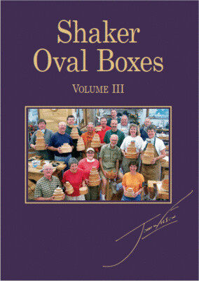 Shaker Oval Boxes Vol. III