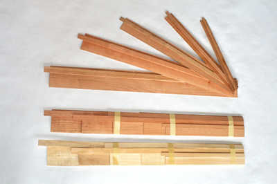 Set of Five Maple Box Bands