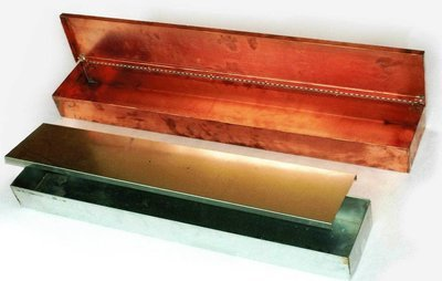 """48"""" Copper Hot Water Tray"""