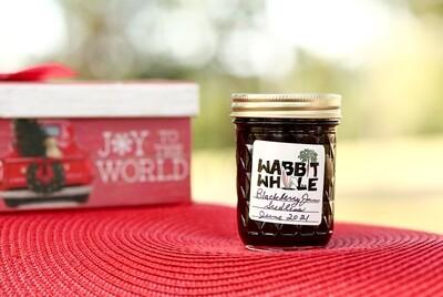 Homemade Seedless Blackberry Jam - 1/2 Pint
