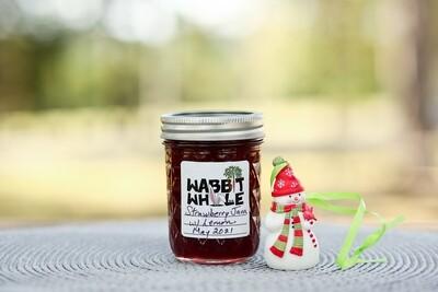 Homemade Strawberry with Lemon Jam - 1/2 Pint