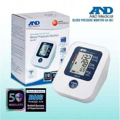 A&D Blood Pressure Monitor UA-651
