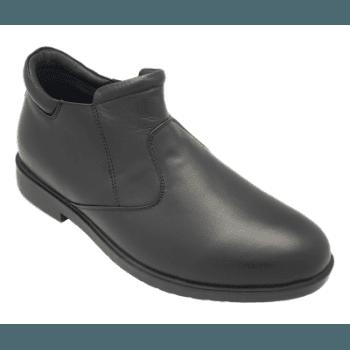 Footlink Leather Men-Black