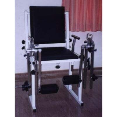 Quadriceps Bench with Two Swing Arms