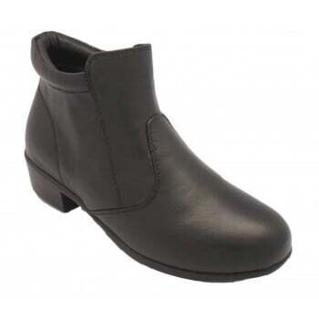 Footlink Leather Women-Black