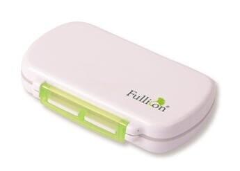 Fullicon - Damp Proof Pill Box ( 6 Compartment )