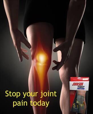 Johnson Remedy Knee Support (Bio-Ray) (s,m,l,xl,xxl)