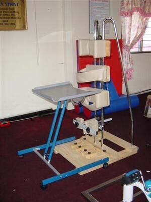 Adjustable Standing Frame with Table