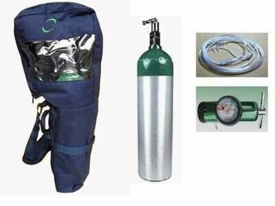 Oxygen Tank with Bag