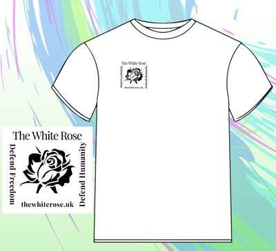 T-Shirt, Black or White
