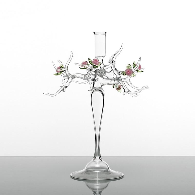 Rose Candlestick