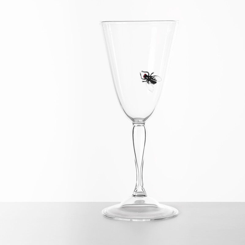 Hand Blown Wine Glass - Vanitas Collection