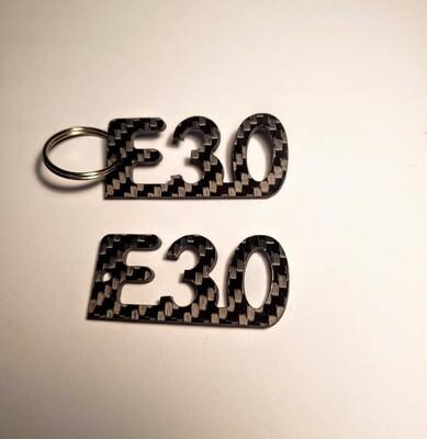 E30 BMW keychain
