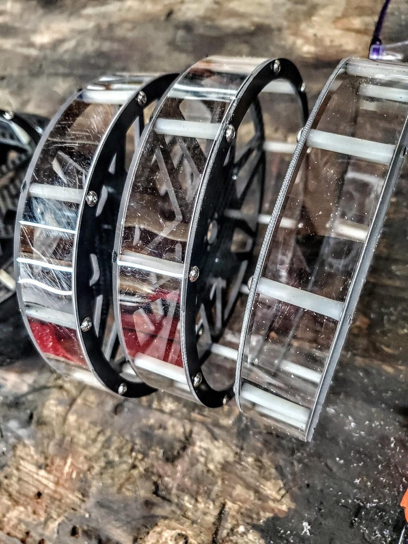 Super wheel polycarbonate inner rings