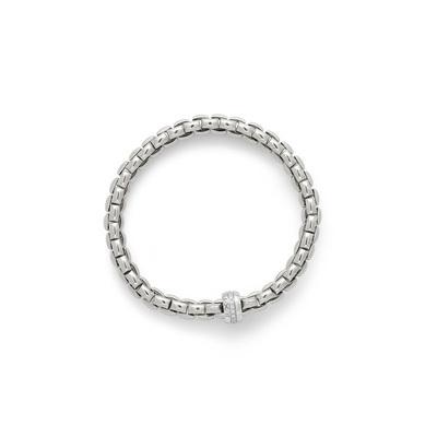 White Gold Diamond Link