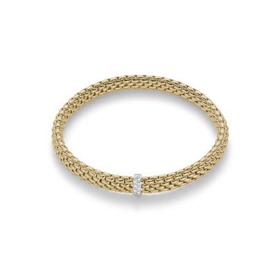 Yelllow Gold Diamond Bracelet